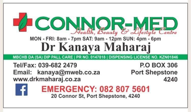 Connor-Med - Dr Kanaya Maharaj