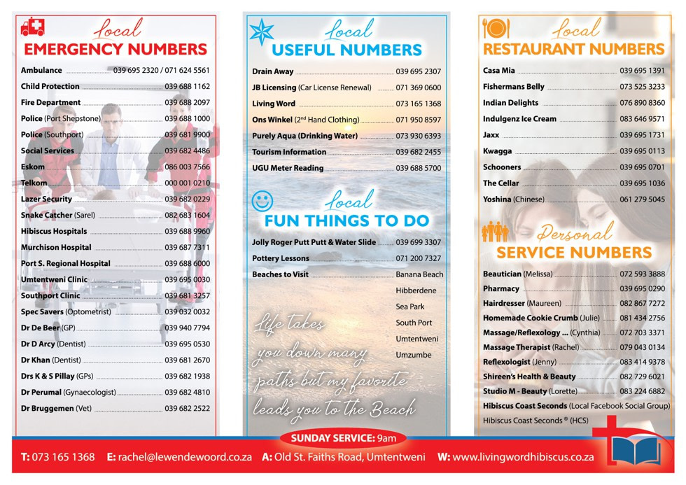 Welcome Pack Brochure - Page 2