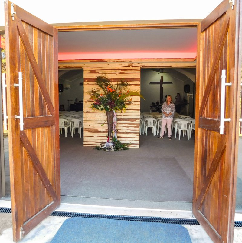 Open church doors